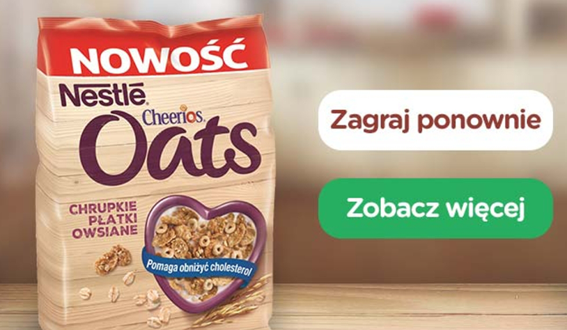 Nestle – Cheerios Oats
